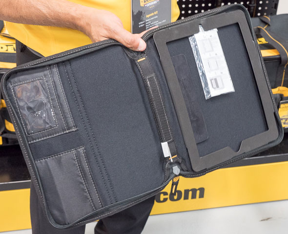 Dewalt iPad Holder