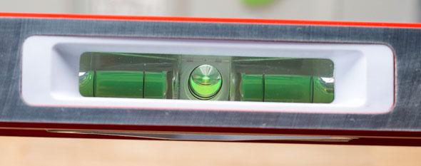 Goldblatt Level Mirrored Plumb Bubble Vial