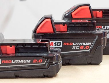 Milwaukee M18 Battery Size Comparison