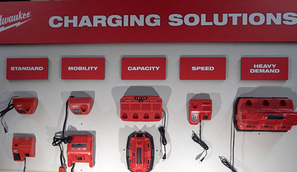 Milwaukee M18 and M12 Battery Chargers