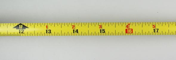 Fatmax tape scale