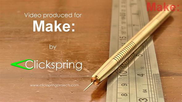 Make Clickspring DIY Brass Metal Scriber