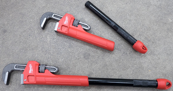 Milwaukee Cheater Pipe Wrench Parts