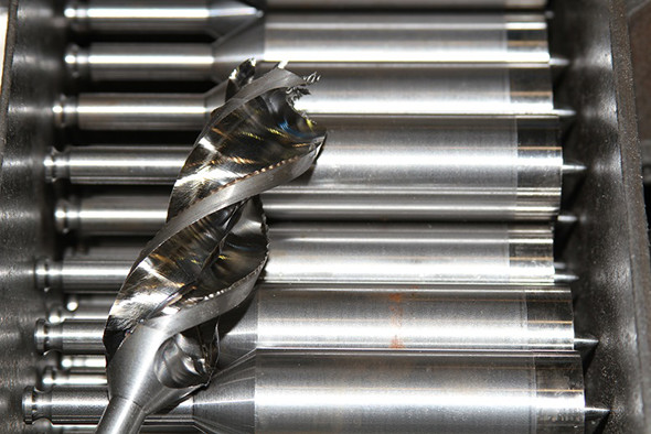 WoodOwl Drill Bit Production Step 2 Ultra Smooth Auger