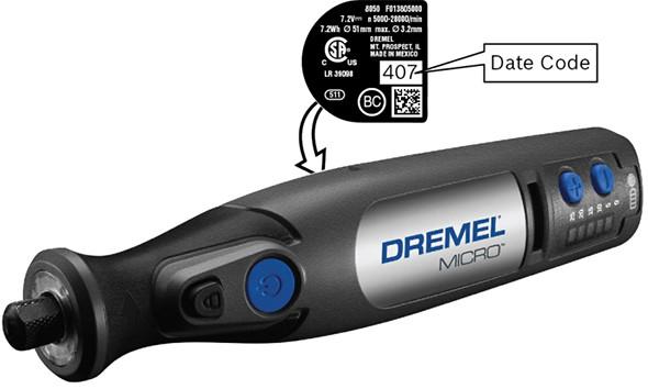 Dremel Micro Date Code Location