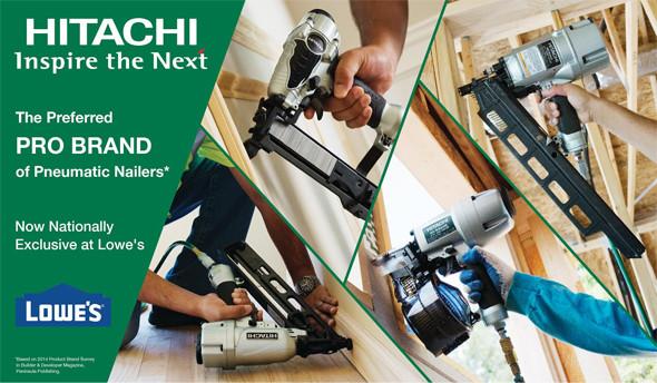 Hitach Lowes Partnership 2015