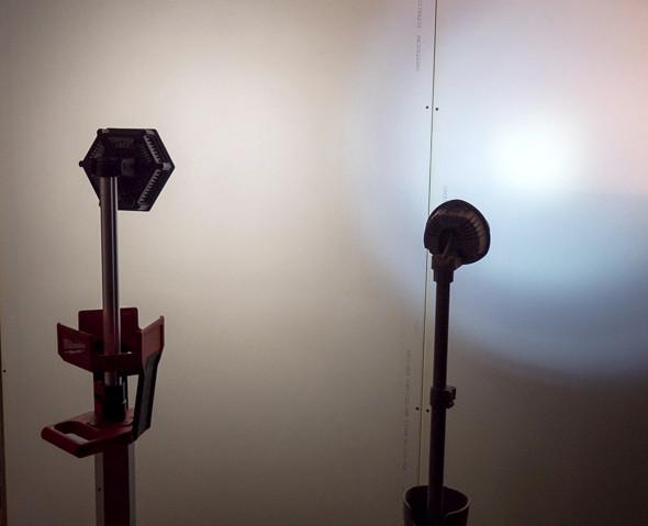 Milwaukee M18 LED Tripod Worklight vs Pelican Illumination Comparison