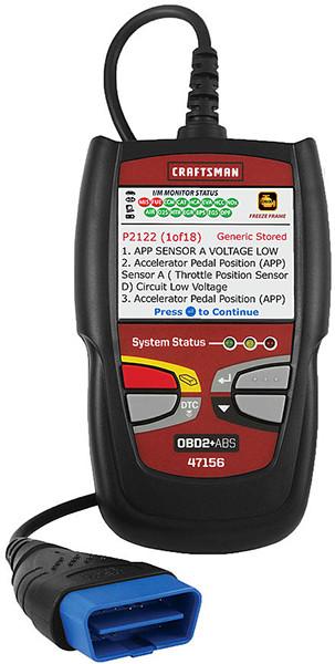 Craftsman OBD2 Car Code Reader