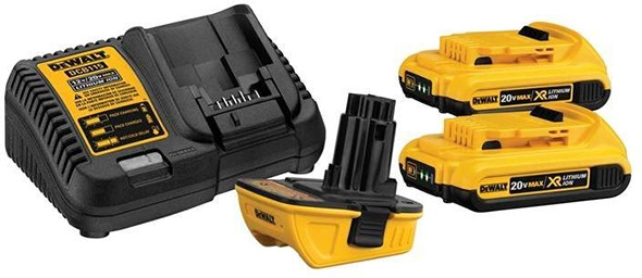 Dewalt DCA2203C 20V Max 18V Battery Adapter Starter Set