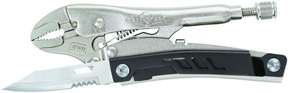Irwin Multi-Plier Vise Grip Multi-Tool Open Knife