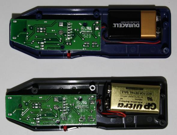 Klein vs HF Transmitter board back side
