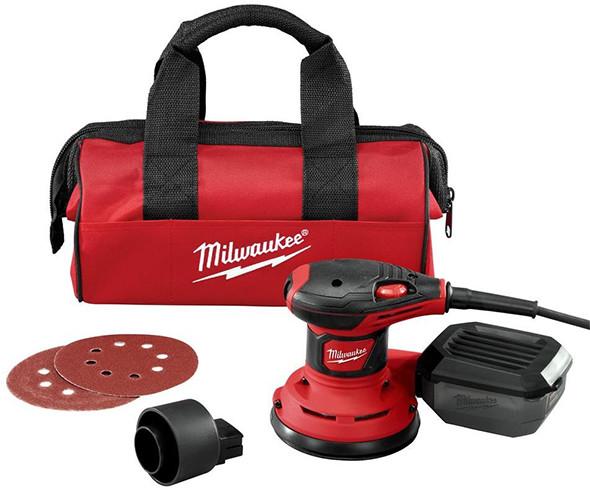 Milwaukee 6034-21 Random Orbit Sander Kit