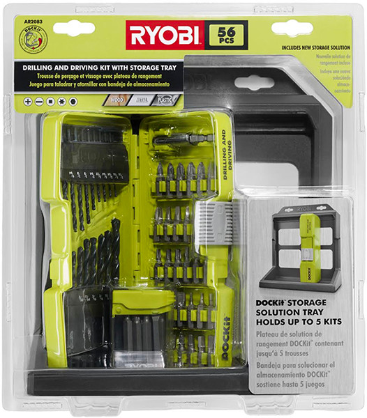 Ryobi Dockit Drilling and Driving Bit Set