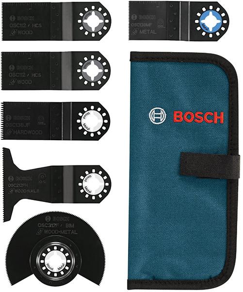 Bosch 6pc Oscillating Multi-Tool Blade Set
