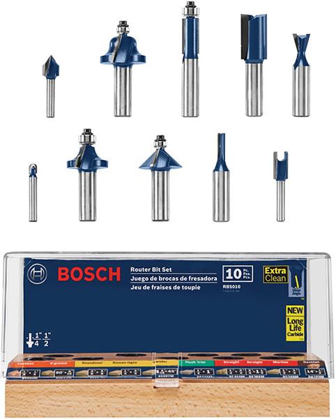 Bosch Router Bit Set