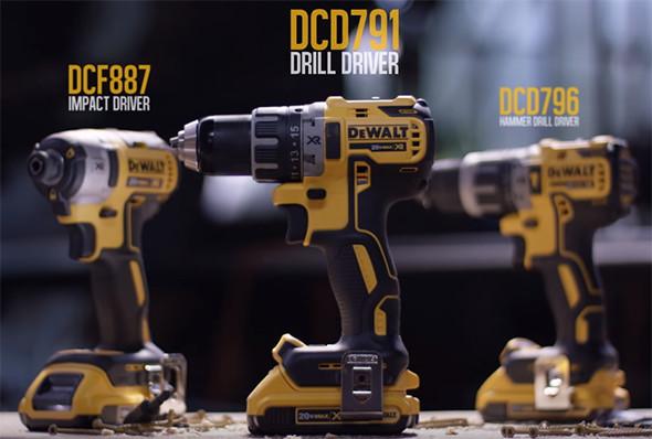 Dewalt Next Generation 20V Max Brushless Drills and Impact Driver