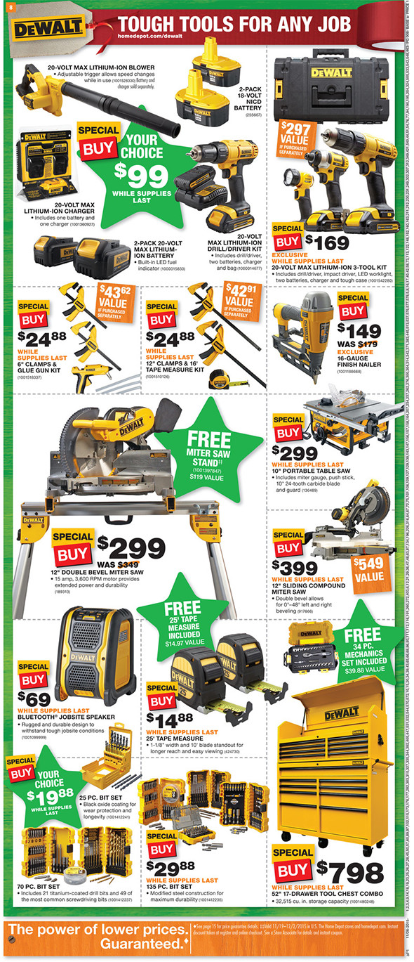 Home Depot Black Friday 2015 Tool Deals Page 4
