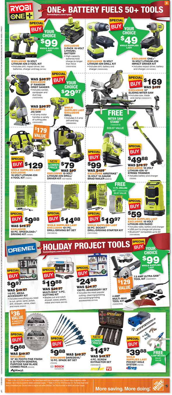 Home Depot Black Friday 2015 Tool Deals Page 5