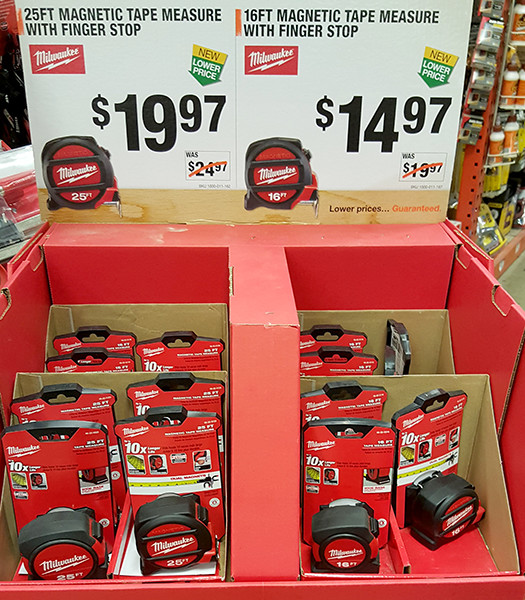 Milwaukee Magnetic Tape Measure Bundles Home Depot Holiday 2015