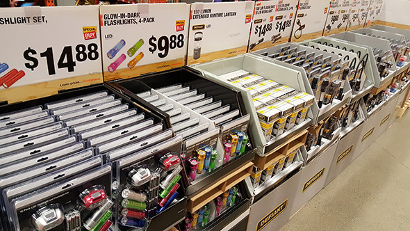 Misc LED Flashlights Black Friday 2015 Home Depot Deal