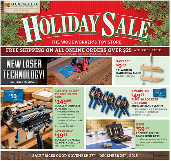 Rockler Black Friday 2015 Tool Deals Page 3