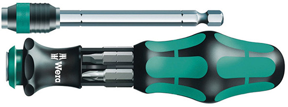 Wera Kraftform Kompakt 25 Multi-Bit Screwdriver