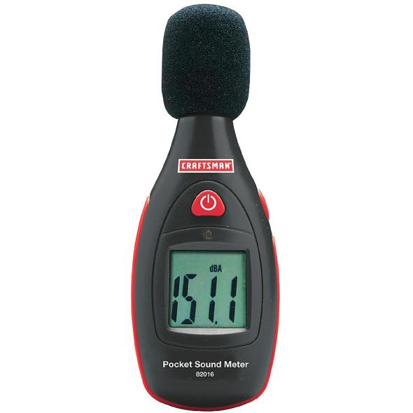 Craftsman Sound Meter Product Shot