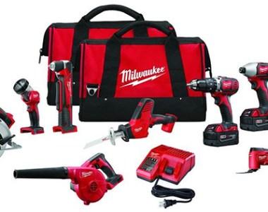 Milwaukee 2695-29 M18 9-Tool Cordless Combo Kit