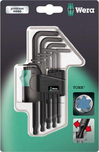 Wera 9pc Ball Torx Key Set