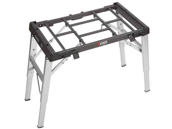 Armor workbench with top removed