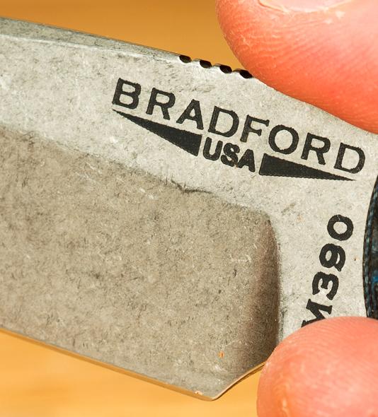 Bradford Guardian3 Fixed Blade Knife Blade Finish