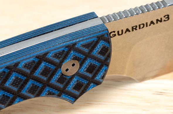 Bradford Guardian3 Fixed Blade Knife Handle Texture
