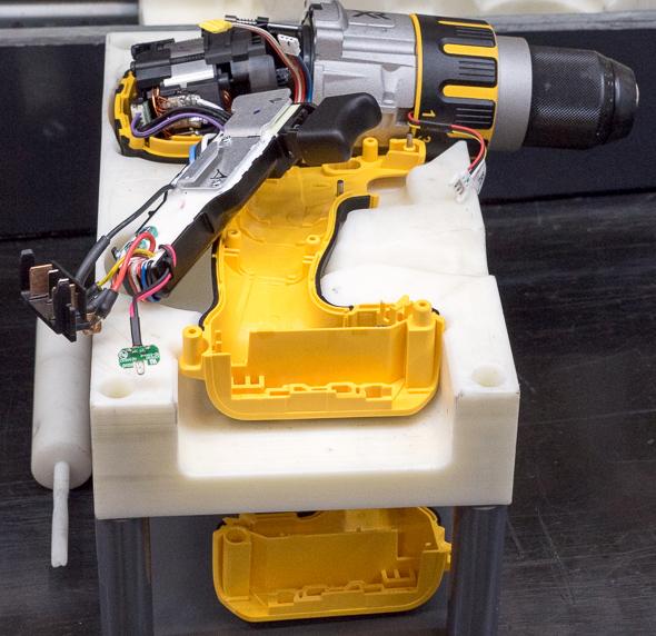 Dewalt 20V Max Brushless Premium Drill USA Assembly Coming Together
