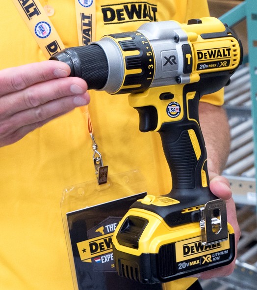 Dewalt 20V Max Brushless Premium Drill USA Assembly Finished Product