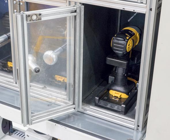 Dewalt 20V Max Impact Driver Testing Cabinet Inside