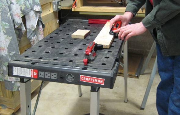 Planing on the workbench