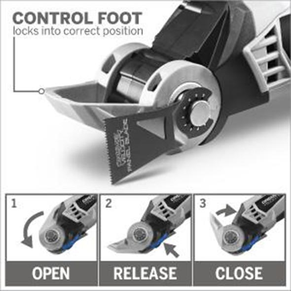 Dremel VC60 Velocity Oscillating Tool Control Foot