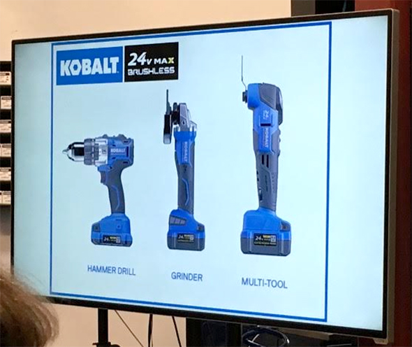 Kobalt 24V Max Tool Expansion