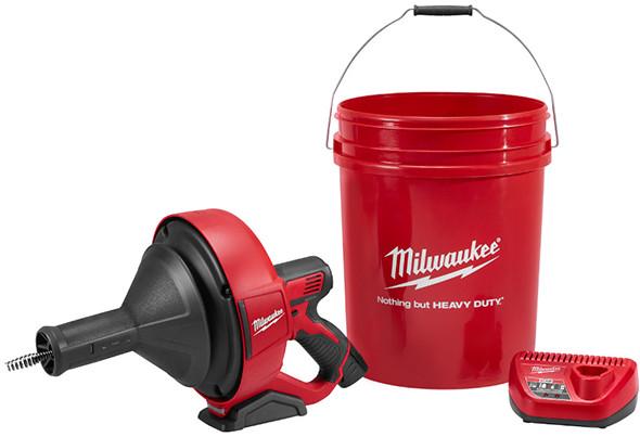 Milwaukee 2571-21 M12 Portable Drain Auger