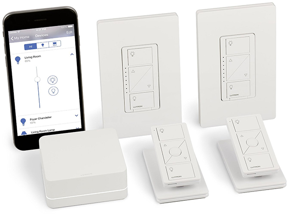 Lutron Caseta Light Dimming Smart Home Kit