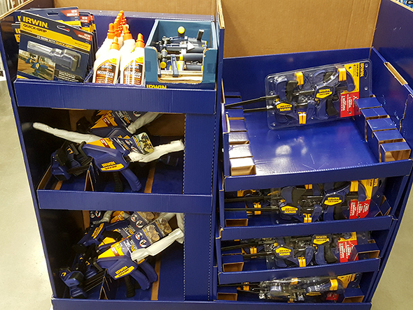 lowes-black-friday-2016-irwin-clamp-display
