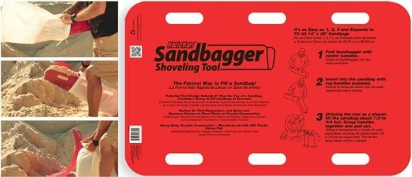 Kwickan Sandbagger Portable Instant Container