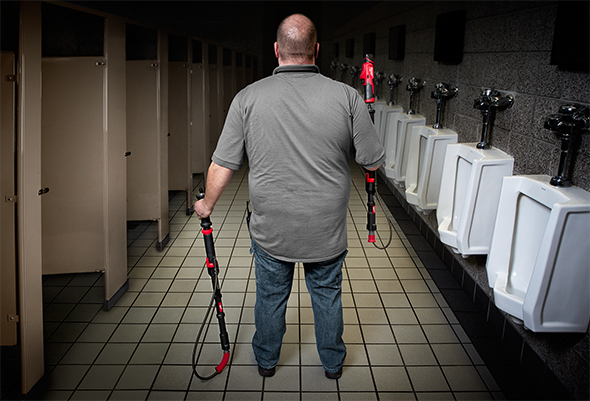 Milwaukee TrapSnake Urinal Plumber Showdown