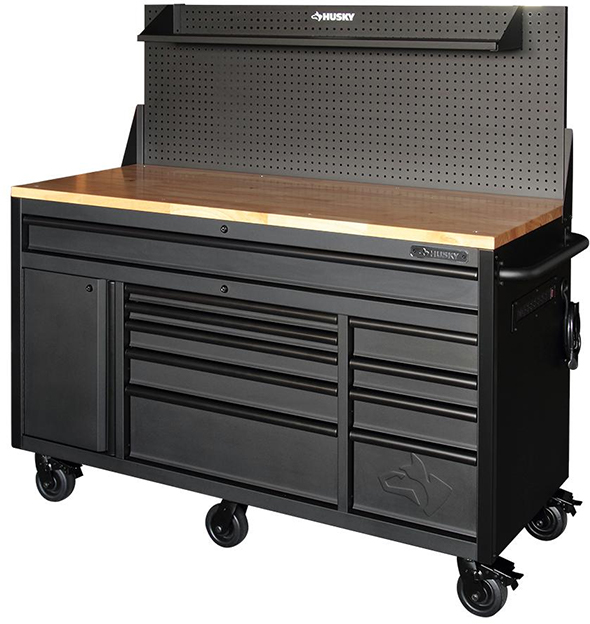 How Would You Raise a Heavy Tool Cabinet From its Side?