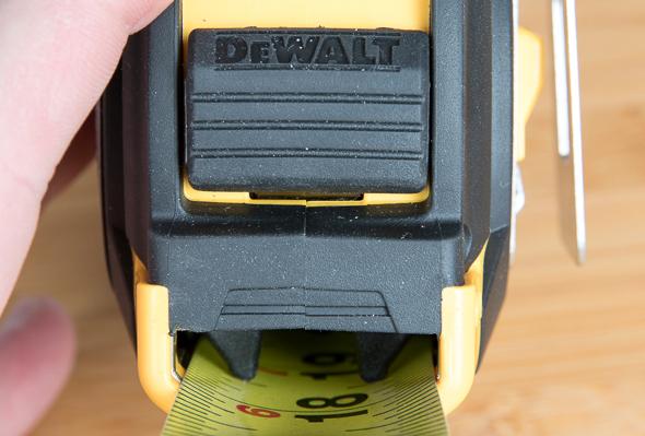 Dewalt XP Tape Measure Locking Mechanism