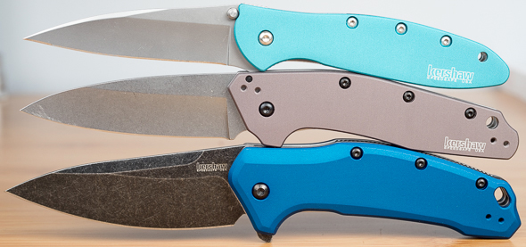 Kershaw Dividend Knife Compared to Leek and Link
