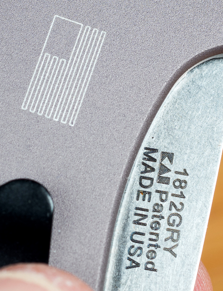 Kershaw Dividend Knife Made in USA Marks