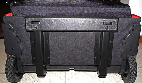 Milwaukee 24 inch hardtop rolling bag bottom skid plates