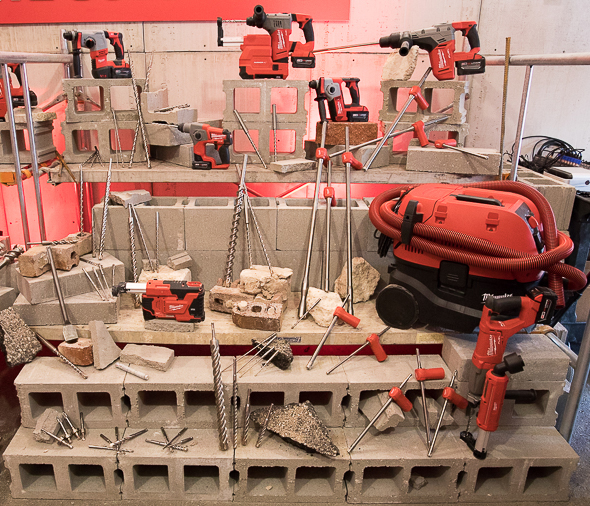 MIlwaukee Tool Rotary Hammer and Masonry Dust Extraction Accessories