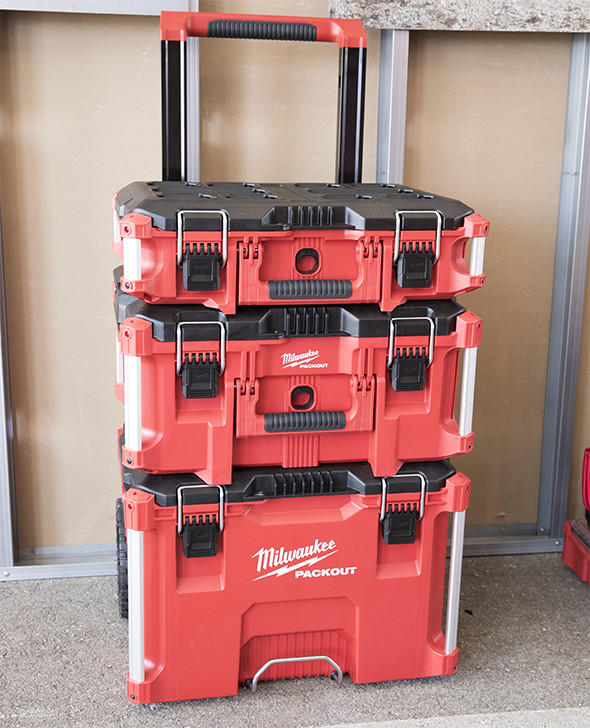 Milwaukee Packout Modular Tool Box System